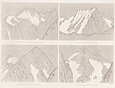 Planche I Outlines sketches of High Alps of Dauphiné