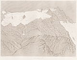 Planche X Outlines sketches of High Alps of Dauphiné