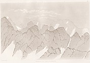 Planche XI Outlines sketches of High Alps of Dauphiné